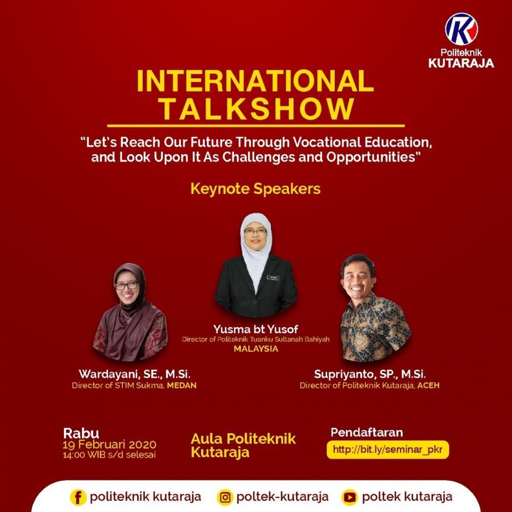 Seminar Internasional [19 Januari 2020]